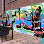 Northfield academy mural project (quad area)