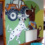 Kid's bedroom mural service inverness