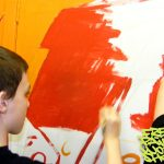 Painting workshop at SCYC, Inverness