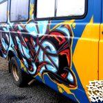 Island tramper Van