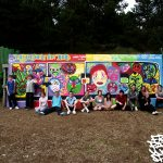 Graffiti workshop, Huntington Disease