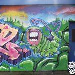 Mural workshop at hilton, Inverness