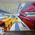 Mural workshop with the Tomatin youth club