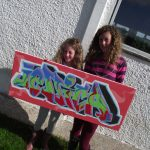 Graffiti workshops, Tiree & Coll