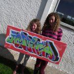 Graffiti workshops, Tiree & Coll
