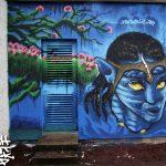 Cordyce collaborative mural project