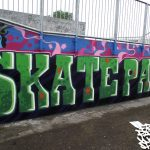 Graffiti workshop, Buckie skatepark