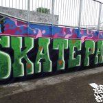 Graffiti workshop, Buckie skatepark