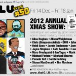 IG:LU 2012 annual Xmas show flyer