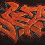 Batmask wall