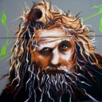 Radagast Hobbit painting