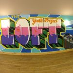 Mural workshop, the loft , Keith