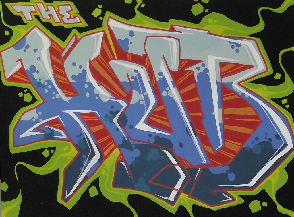 the-hub-graffiti