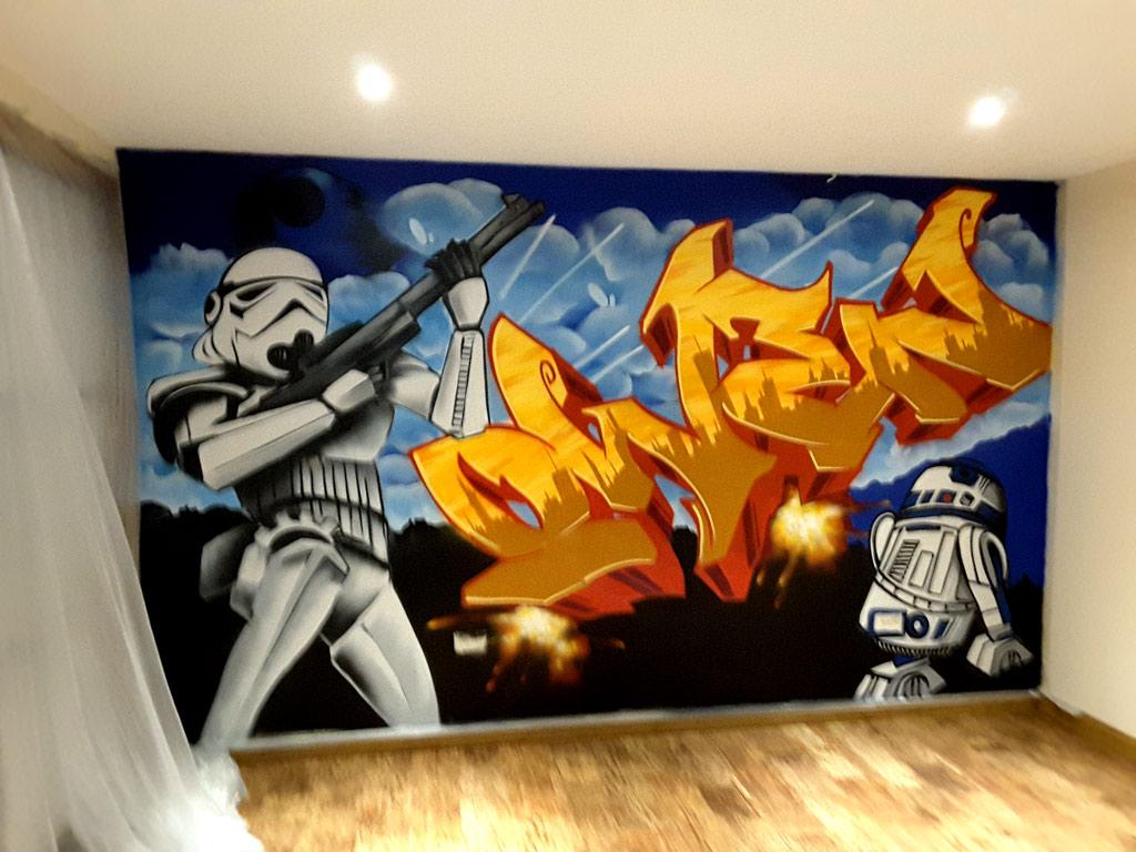 Graffiti Name Bedrooms