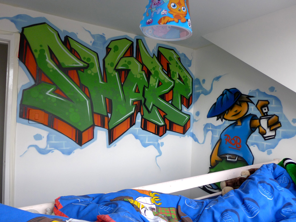 Kids Bedroom Graffiti kids graffiti bedrooms | fresh paint