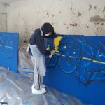 Graffiti workshop, Bernardo's, Aberdeen