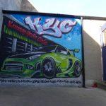 Kemnay mural workshop