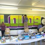 Collective mural workshop in Kinloss