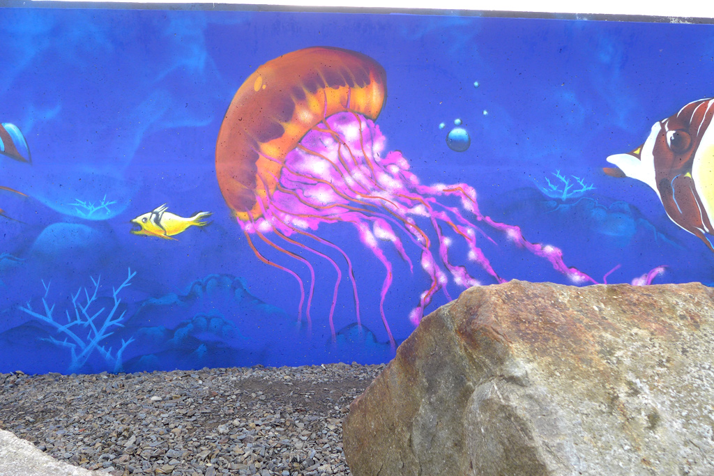 Aquarium mural 10 fresh paint for Aquarium mural gifi