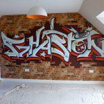Ghaston graffiti bedroom