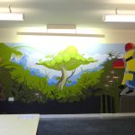 Kinloss youth club art project