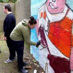 Graffiti workshop at Powis Community Centre, Aberdeen