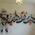 Andreas graffiti bedroom