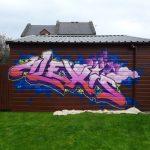 Alexis princess mural